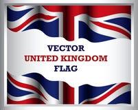 Hintergrund der Flaggenkunst Vereinigten Königreichs stock abbildung