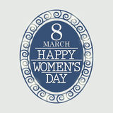 Hintergrund der Frauen Tages Lizenzfreie Stockbilder