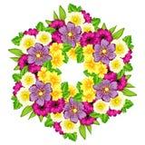 Hintergrund der frischen Blume Stockbild