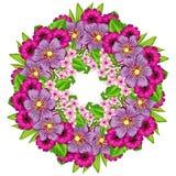 Hintergrund der frischen Blume Stockbilder