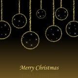 Hintergrund der frohen Weihnachten Lizenzfreies Stockfoto