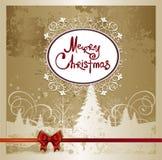 Hintergrund der frohen Weihnachten. Stockfotos
