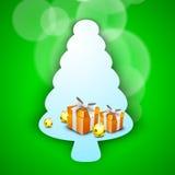 Hintergrund der frohen Weihnachten. ENV 10. Lizenzfreie Stockfotos