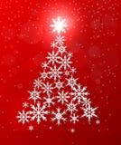 Hintergrund der frohen Weihnachten und des glücklichen neuen Jahres Lizenzfreies Stockbild