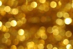 Hintergrund der goldenen Kreise Stockbild