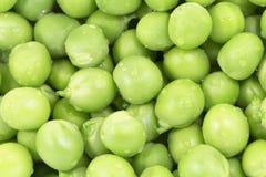 Hintergrund der grünen Erbsen Stockfoto