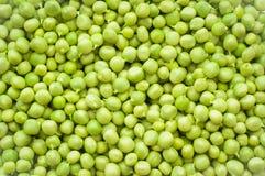 Hintergrund der grünen Erbsen Lizenzfreies Stockbild