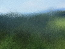 Hintergrund der grünen Hügel Lizenzfreie Stockfotos