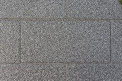 Hintergrund der grauen Backsteinmauer Stockbilder