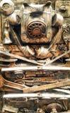 Hintergrund in der grunge Art Stockfotos