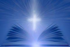 Hintergrund der heiligen Bibel stockfoto