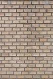 Hintergrund der hellbraunen Backsteinmauer der alten Weinlese lizenzfreie stockfotos