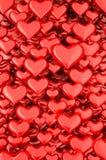 Hintergrund der Herzen 3d Stockbilder