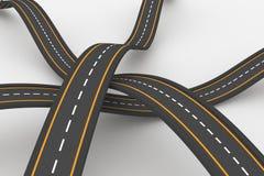 Hintergrund der holperigen Straße vektor abbildung
