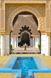 Hintergrund der islamischen Architektur des Details Lizenzfreie Stockfotos
