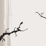 Hintergrund in der japanischen Art Stockbilder
