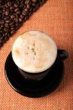 Hintergrund der Kaffeebohnen Stockfotografie