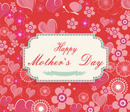 Hintergrund der Mütter Tages Stockbilder