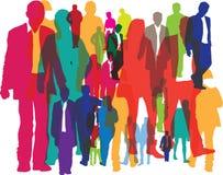 Hintergrund der Massen der Leute Lizenzfreie Stockbilder