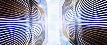 Hintergrund der modernen Architektur Stockfoto