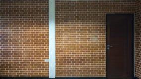 Hintergrund der modernen Backsteinmauer Lizenzfreies Stockfoto