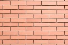 Hintergrund der neuen Backsteinmauer Lizenzfreies Stockfoto