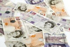 Hintergrund der Pounds Stockbilder