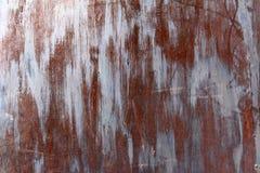 Hintergrund der rostigen alten Metall- und Eisenmusterbeschaffenheit, Kopienraum Stockbilder
