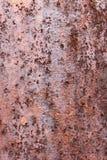 Hintergrund der rostigen alten Metall- und Eisenmusterbeschaffenheit, Kopienraum Stockfotografie