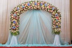 Hintergrund der schönen Blumenhochzeit verzieren Lizenzfreies Stockfoto