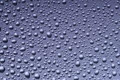 Hintergrund der schönen Wassertropfen Stockbild
