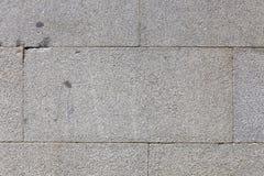 Hintergrund der schmutzigen Backsteinmauer der alten Weinlese mit Schalengips Stockfotografie