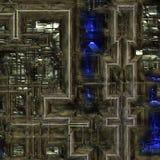 Hintergrund der schweren Maschinerie Lizenzfreie Stockfotografie
