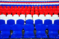 Hintergrund der Stühle Stockfotografie