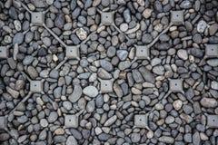 Hintergrund der Steinfußbodenbeschaffenheit stockbilder