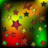 Hintergrund der Sterne Lizenzfreie Stockfotos