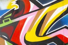 Hintergrund der strukturierten Mehrfarbenwand Stockbild