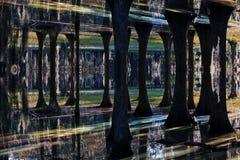 Hintergrund - der Sumpf Stockfotografie