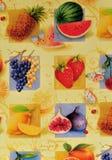 Hintergrund der verschiedenen Früchte Lizenzfreies Stockbild