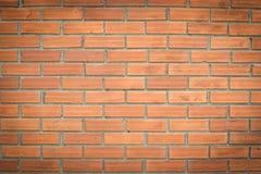 Hintergrund der Wand-Musterbeschaffenheit des roten Backsteins Stockbilder