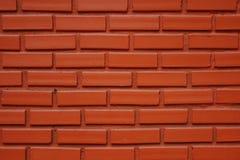 Hintergrund der Wandbeschaffenheit des roten Backsteins Stockfoto