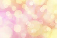 Hintergrund der weichen Leuchten Stockfotos