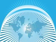Hintergrund der Welt lizenzfreie abbildung