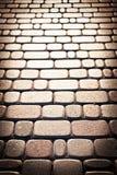 Hintergrund der Ziegelsteine. Lizenzfreies Stockfoto