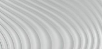 Hintergrund der Zusammenfassungs-3D von Grey White Curve Lines, Illustration Stockfotos