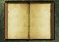 Hintergrund des alten Buches Lizenzfreie Stockfotos