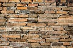Hintergrund des alten Ziegelsteines wal Lizenzfreie Stockfotografie