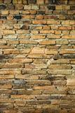 Hintergrund des alten Ziegelsteines wal Stockfotografie