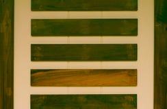 Hintergrund des Betons und des Holzes Stockfotografie