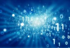 Hintergrund des binären Codes Lizenzfreie Stockbilder